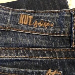 KUT So Low Size 12 Boot Cut Jeans